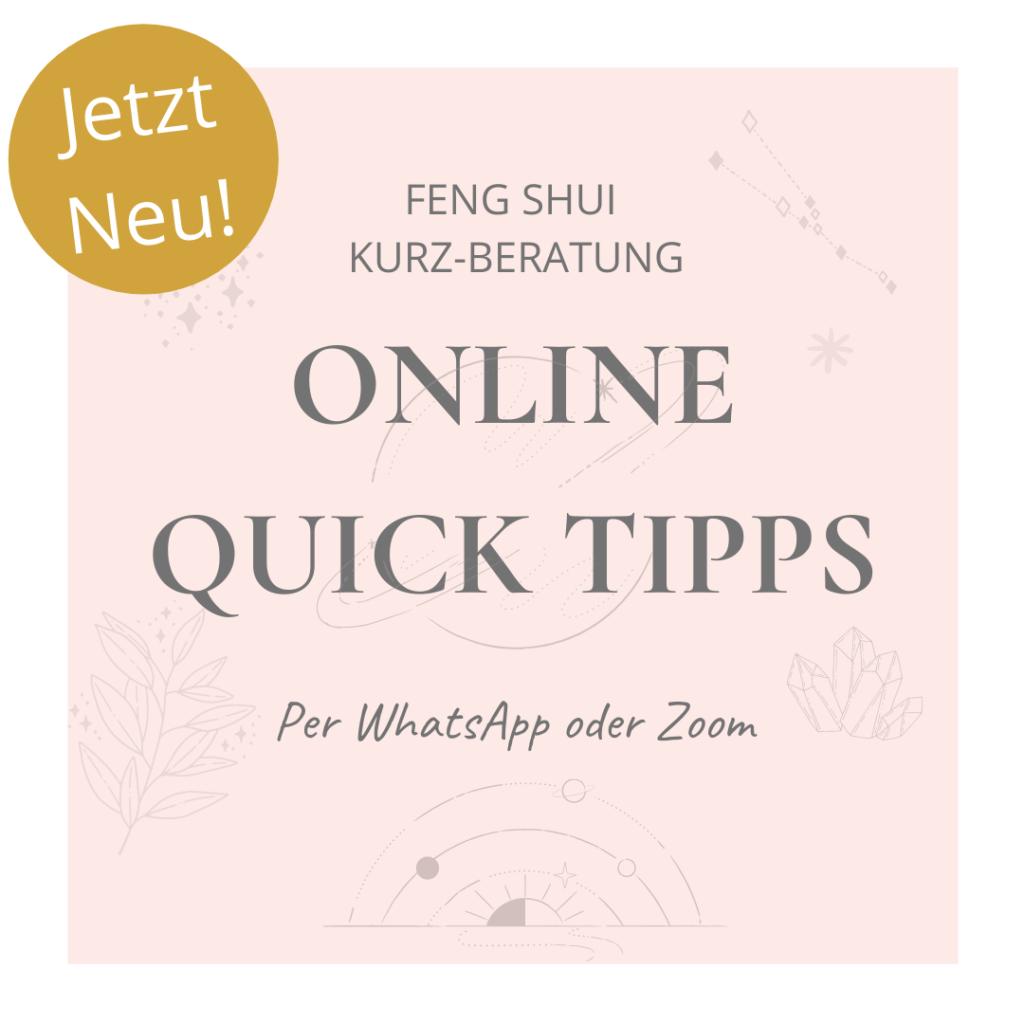 Feng Shui Online Kurz-Beratung