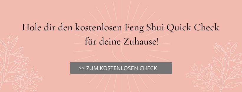 Kostenloser Feng Shui Quick Check (Pdf)