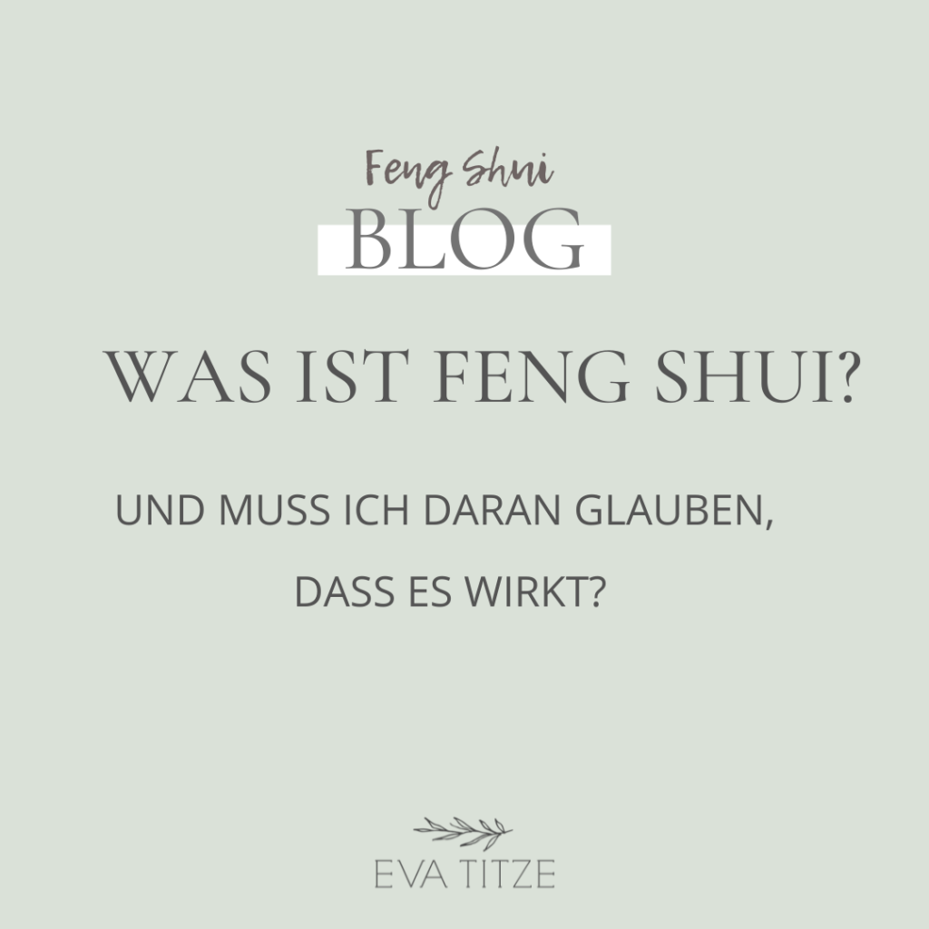 Blog Was ist Feng Shui